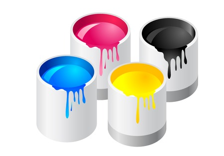 Abstract vector illustration of paint canister Stock Vector - 3983369
