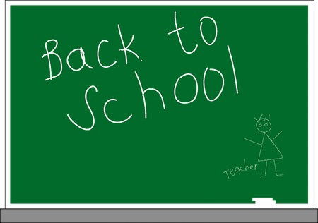 Vector illustration of Back to school concept Vector