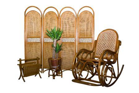 arredamento classico: mobili composizione isolato su sfondo bianco