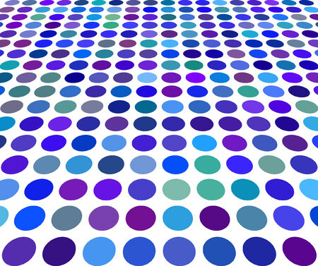 Abstract vector blue color Dot Background Vector