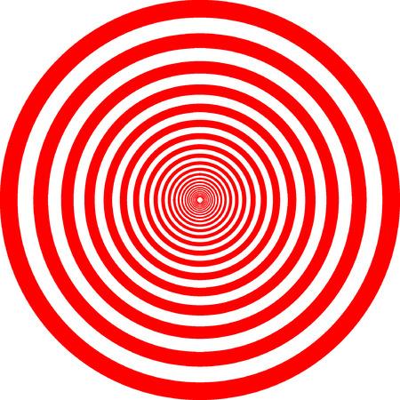 kreis: Zusammenfassung roten Kreis Vektor Illustration Hintergrund Illustration