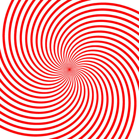 Abstract vector red vortex illustration Background Vector