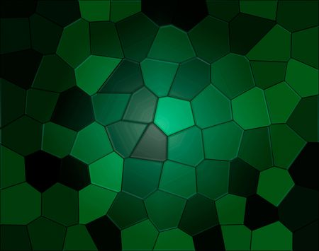 Abstract illustration of green reptile background  Stock Photo