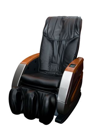 Massage armchair isolated on white background Stock Photo - 4951282