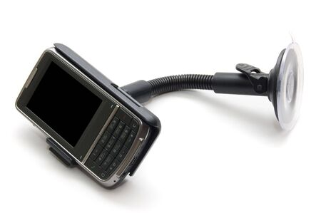 communicator isolated on a white background photo