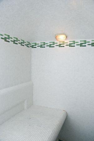 turkish bath: The Turkish bath with ceramic tile