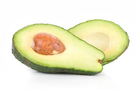 avocado fruit isolated on a white background Stock Photo - 6320311
