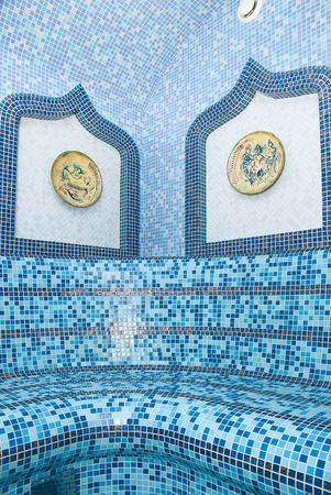 The Turkish sauna with ceramic tile Stock Photo - 6357399