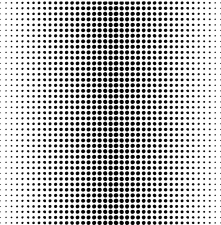 halftone: dots pattern on a white