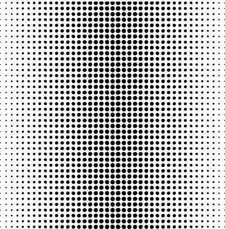 half and half: patr�n de puntos sobre un fondo blanco