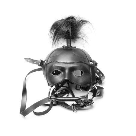sadomasochism: sadomasochism mask isolated on a white background