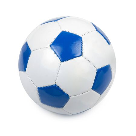 play ball: soccer ball isolated on a white background