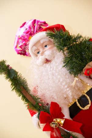 Santa Claus closeup toy photo