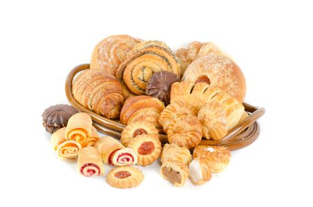 Bakery foodstuffs set Stock Photo - 9240841