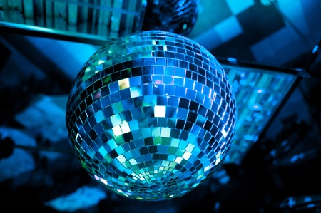 Disco ball light reflection background Stock Photo - 13296586