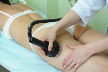 nalga: procedimiento para las nalgas de mujeres para la celulitis