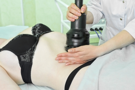 procedure for women stomach for cellulite Stock Photo - 13872285