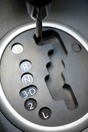 switching modes of automatic transmission car photo