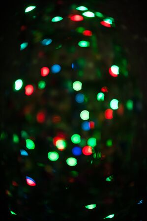 christmas backdrop: New year bokeh background for design Stock Photo