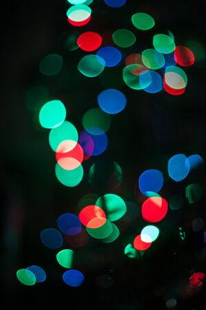 celebration event: New year bokeh background for design Stock Photo