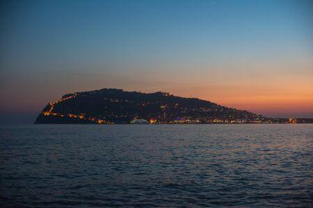 alanya: Panoramic view of Alanya coast, Turkey