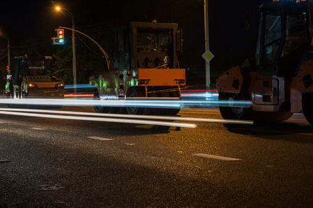 blowers: repairing the road in the night city