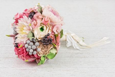 wedding flower composition Stock Photo