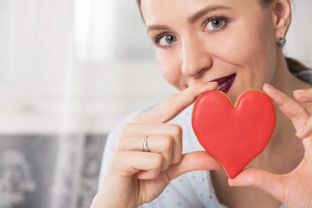 mania: Happy Valentines or mother day Stock Photo