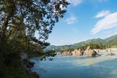 katun: Fast mountain river Katun