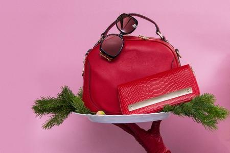Red Female accessories