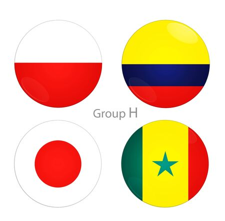 Football Cup. Group H countries