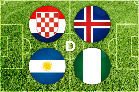 Football Cup in Russia 2018. Group A countries