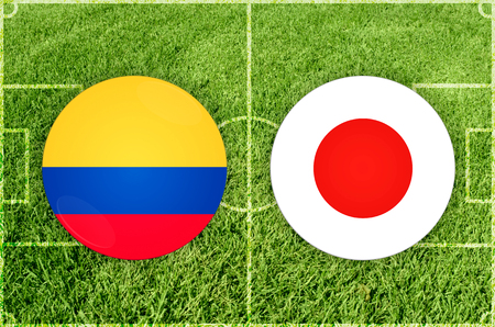 Illustration for Football match Ecuador vs Japan