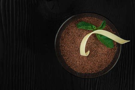 Delicious Italian dessert tiramisu
