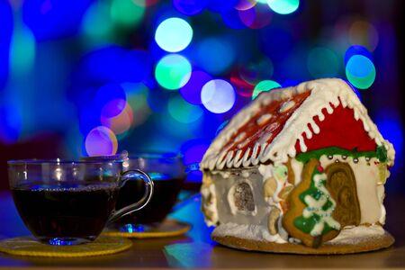 christmas house: Christmas gingerbread house