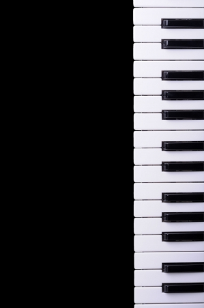musical instrument parts: piano keyboard