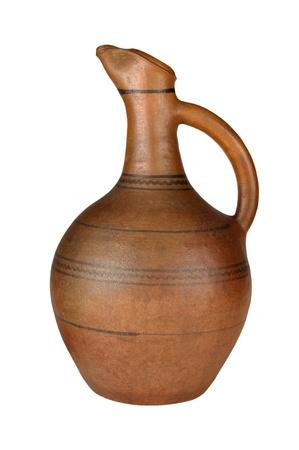 Georgian antique jug wine  Stock Photo