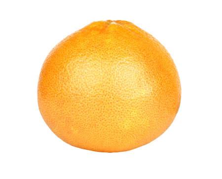 ripe grapefruit isolated on a white background