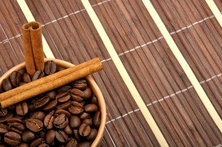 coffe and cinnamon