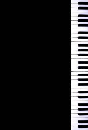 fortepian: klawiatura fortepianu