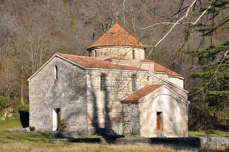Church in Nakalakevi  ancient Arheopolis  in Georgia  Mingrelia  Stock Photo - 17205193