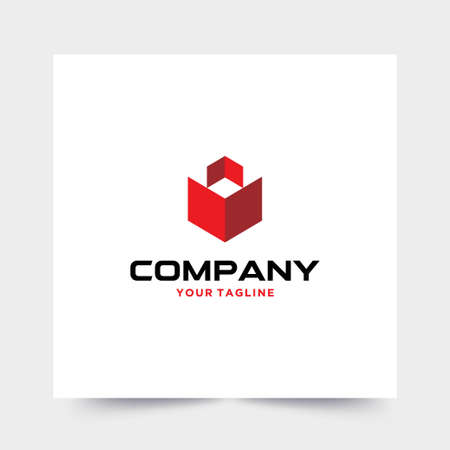 Modern and strong logo for construction companies