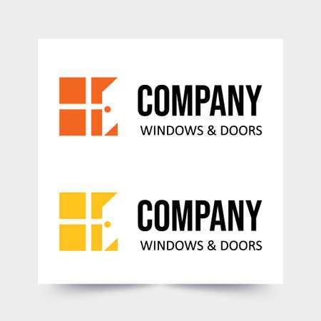 Modern logo for door and window companies Logo