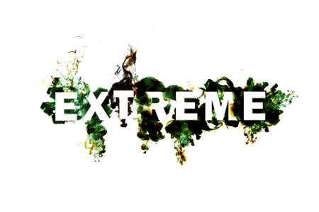 Abstract word extreme. Stock Photo - 9159580