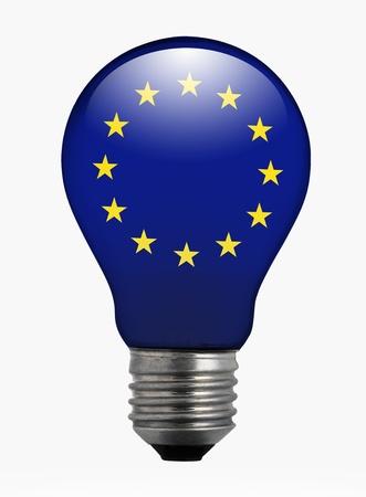 europa: Conceptual image of innovation in the E.U.