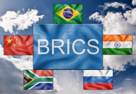 Flags of the BRICS