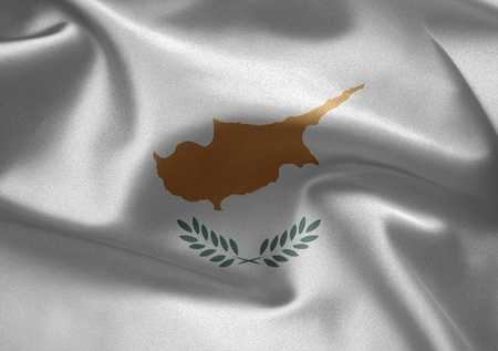 Cyprus flag  Stock Photo - 12093284