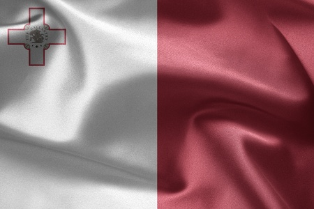malta flag: The national flag of Malta
