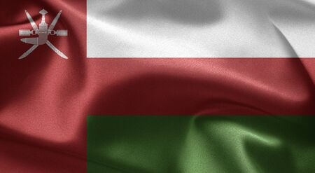 Flag of Oman Stock Photo - 12093288