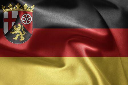 bundes: Rhineland-Palatinate Stock Photo